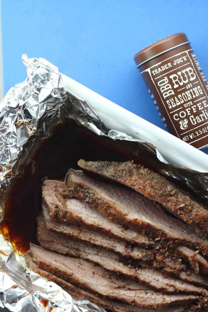 Trader Joe's Kosher Beef Fully Trimmed Brisket fully cooked