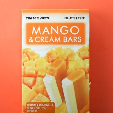 Trader Joe's Mango and Cream Bars