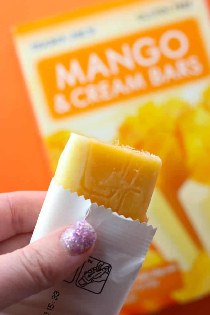 Trader Joe's Mango and Cream Bars
