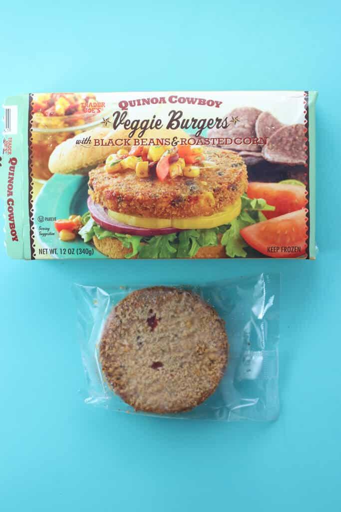 Trader Joe's Quinoa Cowboy Veggie Burgers