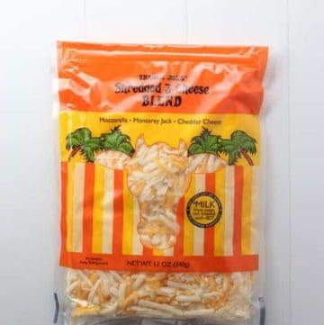 Trader Joe's Shredded 3 Cheese Blend bag