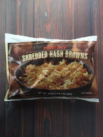 Trader Joe's Shredded Hashbrowns bag