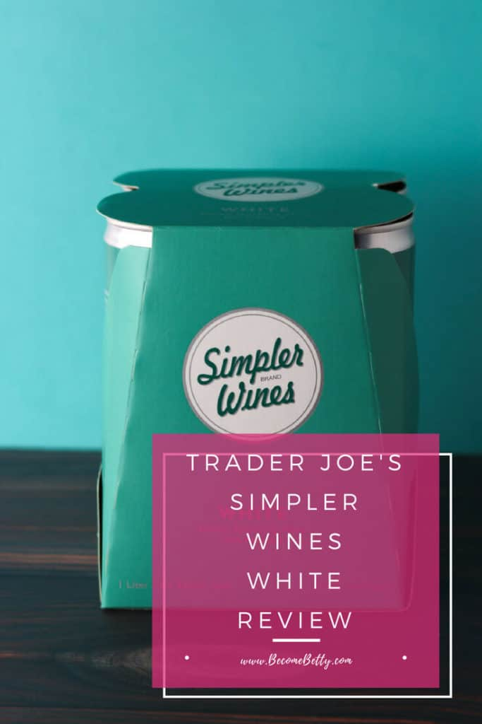 Trader Joe's Simpler Wines White review
