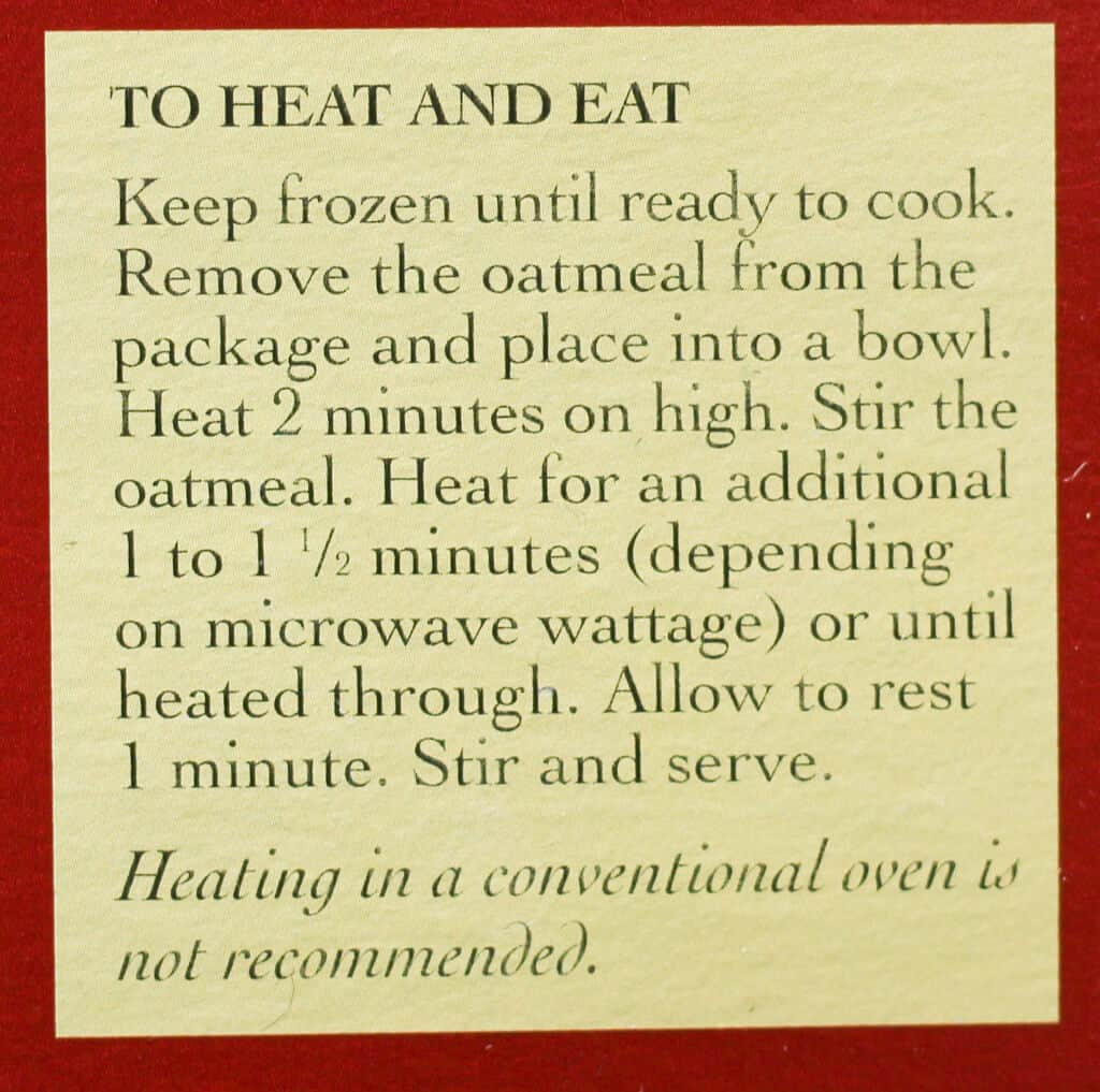Trader Joe's Steelcut Oatmeal how to prepare this
