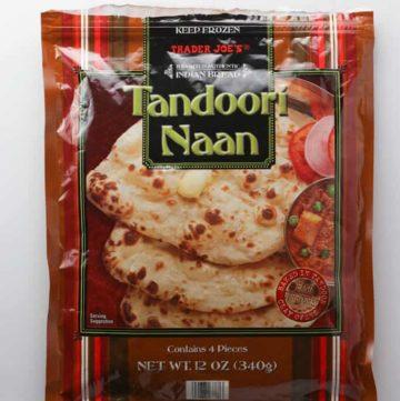 Trader Joe's Tandoori Naan bag