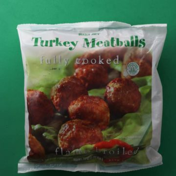Trader Joe's Turkey Meatballs
