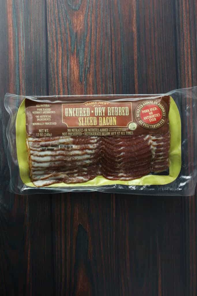 Trader Joe's Uncured Dry Rubbed Sliced Bacon