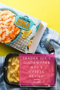 Trader Joe's Gluten Free Mac and Cheese review