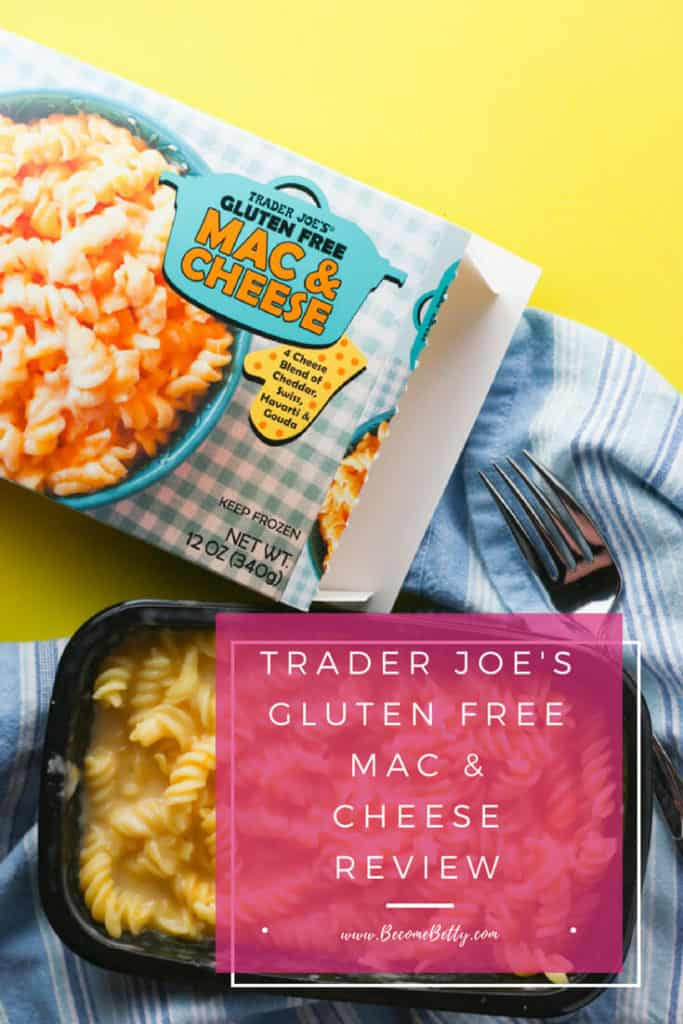 Trader Joe's Gluten Free Mac and Cheese review