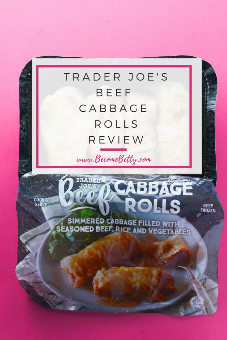 Trader Joe's Beef Cabbage Rolls review