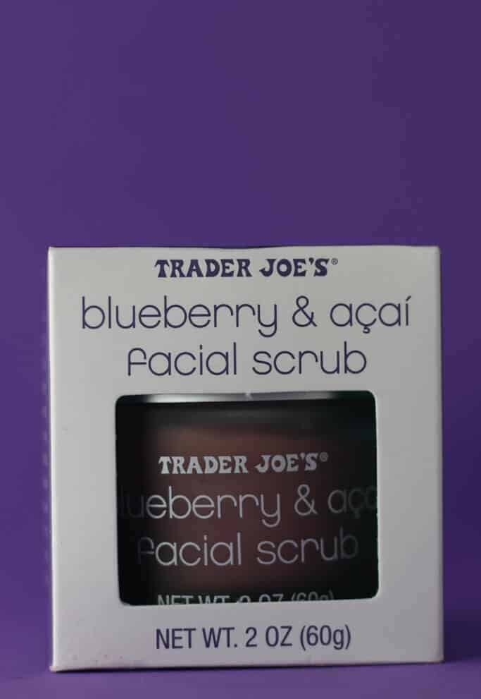 Trader Joe's Blueberry and Acai Facial Scrub