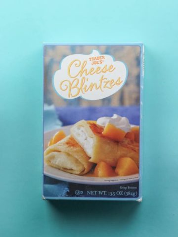 Trader Joe's Cheese Blintzes