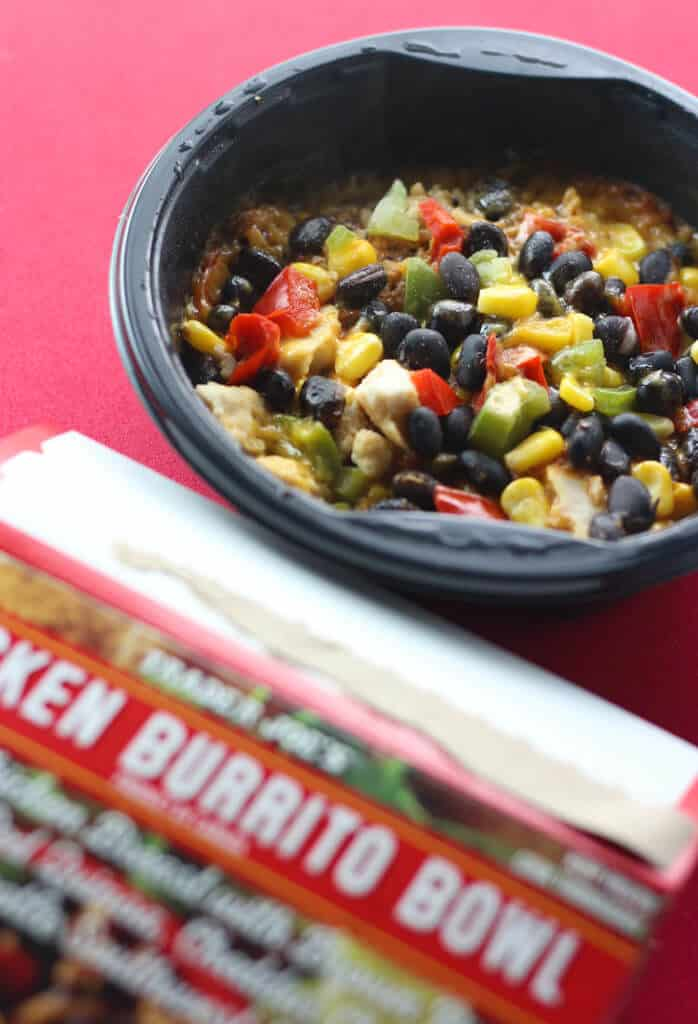 Trader Joe's Chicken Burrito Bowl fully cooked