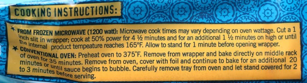 Trader Joe's Chicken Enchiladas how to prepare