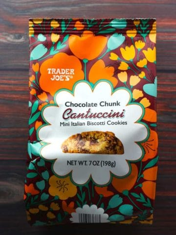 Trader Joe's Chocolate Chunk Cantuccini