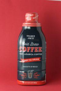 Trader Joe's Cold Brew Coffee bottle