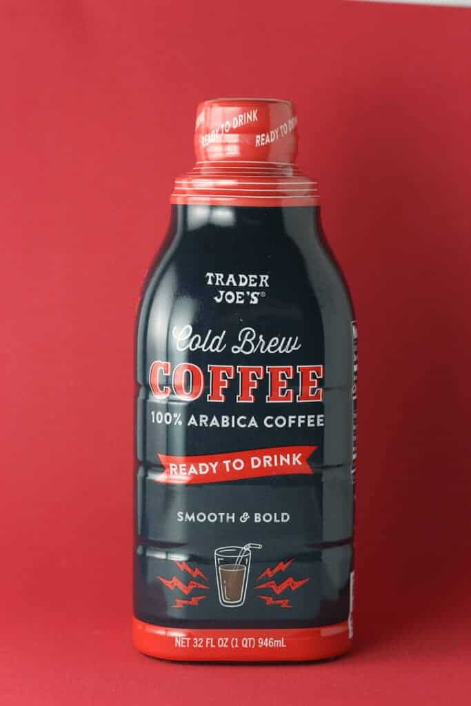 Trader Joe's Cold Brew Coffee bottle