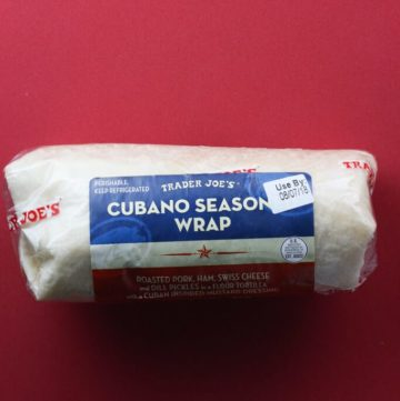 Trader Joe's Cubano Seasoned Wrap