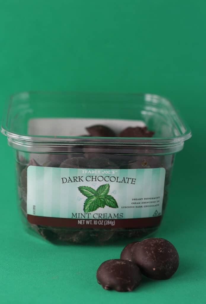 Trader Joe's Dark Chocolate Mint Creams