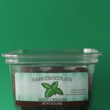 Trader Joe's Dark Chocolate Mint Creams