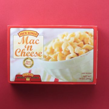 Trader Joe's Diner Mac and Cheese