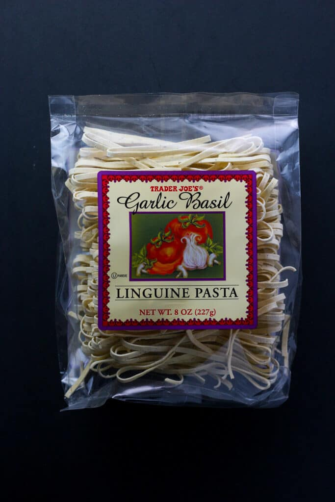 Trader Joe's Garlic Basil Linguine Pasta