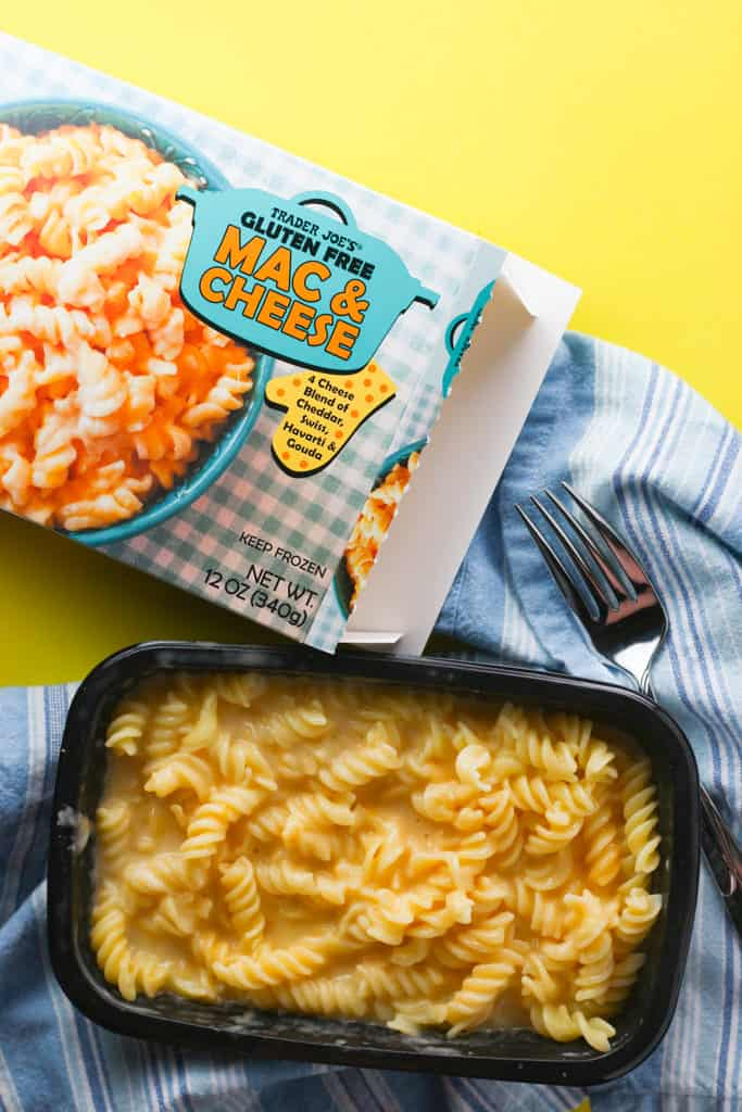 Trader Joe's Gluten Free Mac and Cheese fully cooked