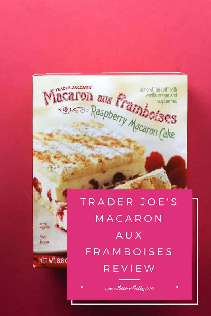 Trader Joe's Macaron Aux Framboises review