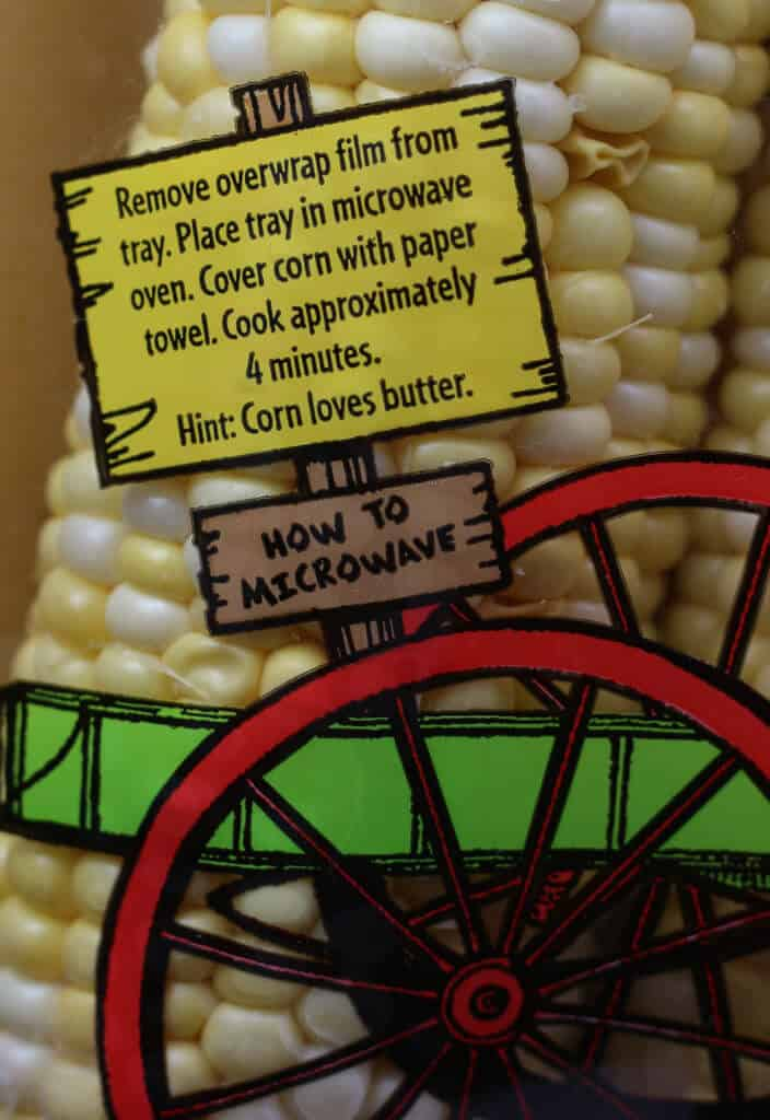 Trader Joe's Super Sweet Fresh Corn directions