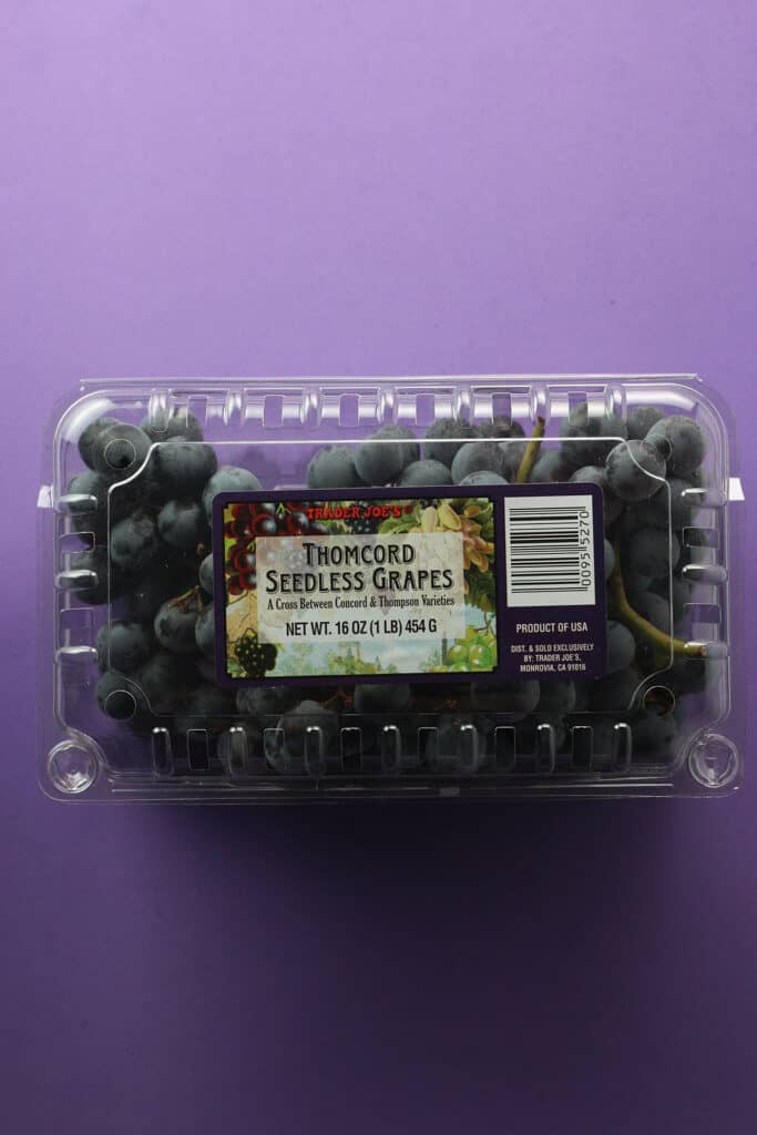 Trader Joe's Thomcord Seedless Grapes