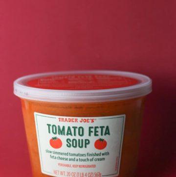 Trader Joe's Tomato Feta Soup