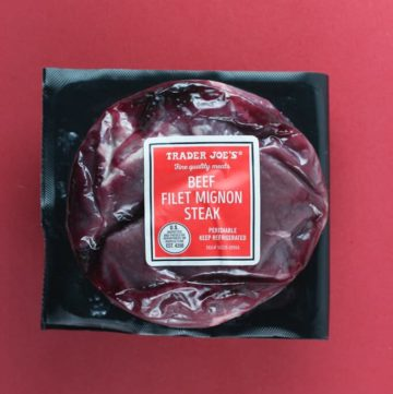 Trader Joe's Beef Filet Mignon Steak