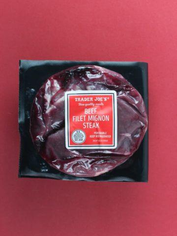 Trader Joe's Beef Filet Mignon Steak