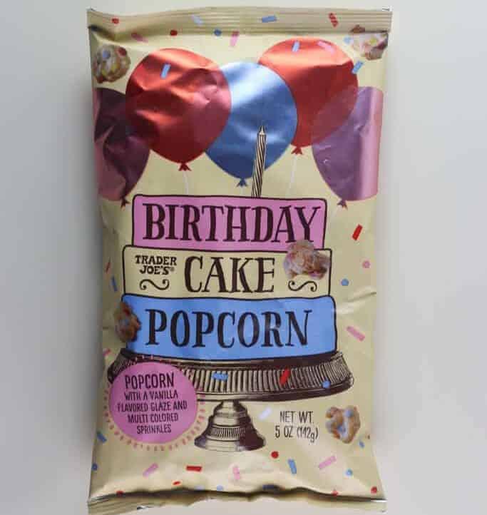 Trader Joe's Birthday Cake Popcorn