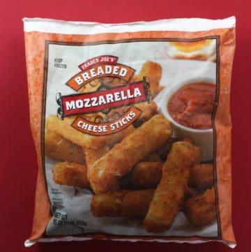 Trader Joe's Breaded Mozzarella Cheese Sticks review
