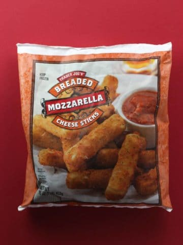Trader Joe's Breaded Mozzarella Cheese Sticks review