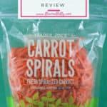 Trader Joe's Carrot Spirals review