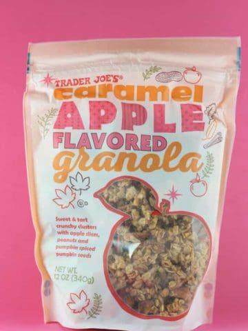 Trader Joe's Caramel Apple Flavored Granola