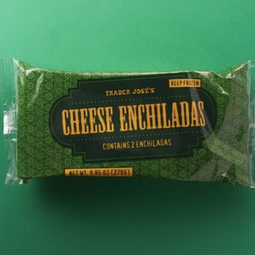 Trader Joe's Cheese Enchiladas