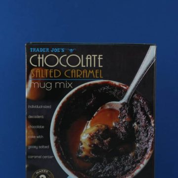 Trader Joe's Chocolate Salted Caramel Mug Mix