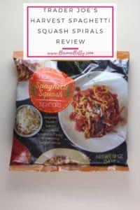 Trader Joe's Harvest Spaghetti Squash Spirals review
