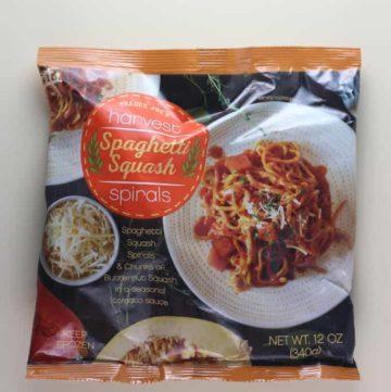 Trader Joe's Harvest Spaghetti Squash Spirals