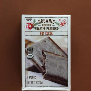 Trader Joe's Hot Cocoa Organic Frosted Toaster Pastries