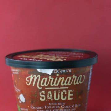 Trader Joe's Marinara Sauce