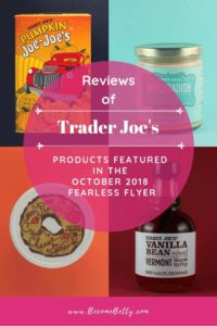 Trader Joe's October 2018 Fearless Flyer Roundup