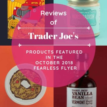 Trader Joe's October 2018 Fearless Flyer