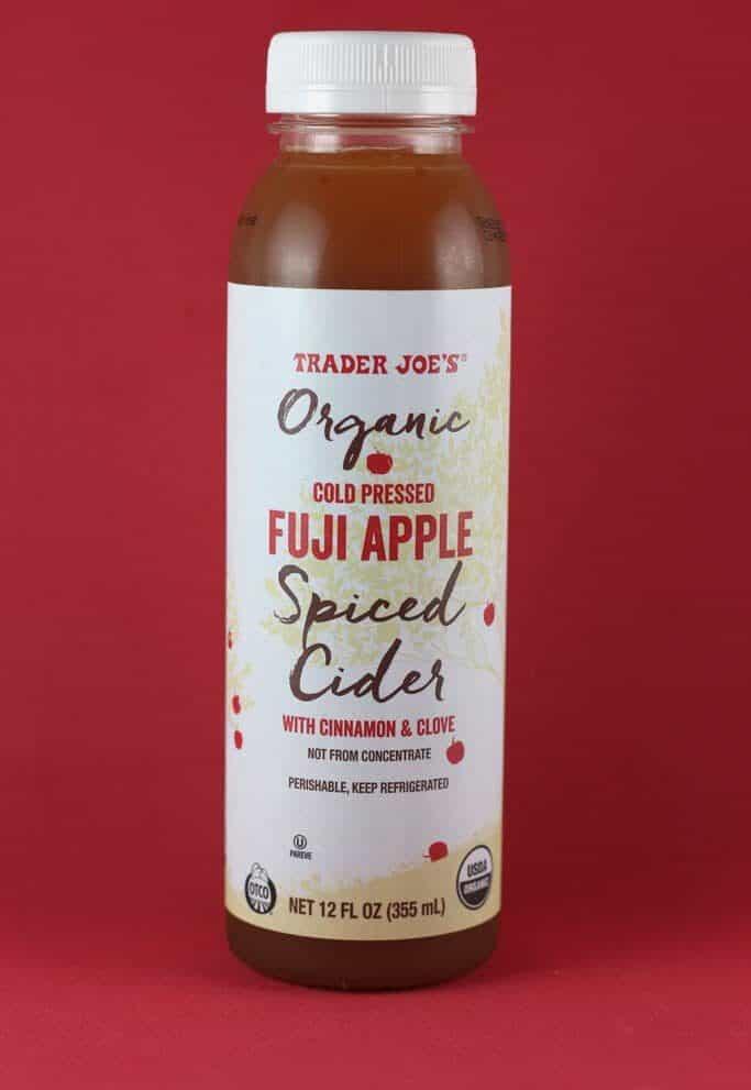 Trader Joe's Organic Cold Pressed Fuji Apple Spiced Cider