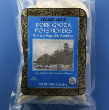 Trader Joe's Pork Gyoza Potstickers