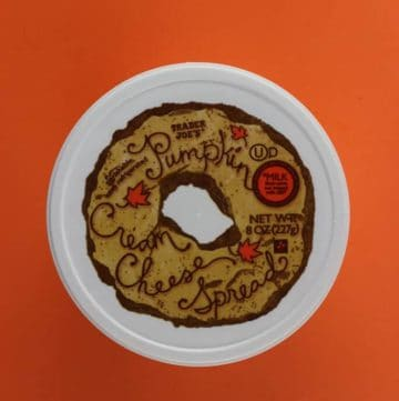 Trader Joe's Pumpkin Cream Cheese Spread