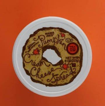 Trader Joe's Pumpkin Cream Cheese